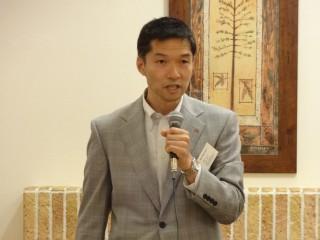 遠藤座長より全体会議開会の挨拶