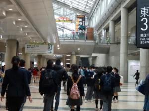 エコプロダクツ2014 会場(通路)