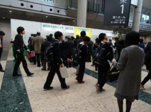 エコプロダクツ2017会場(通路)